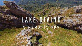 Cinematic FPV | Lake Diving |