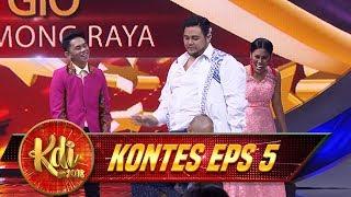 DUEL PANAS! Master igun Vs Wendi Adu Tarian KPOP - Kontes KDI Eps 5 (10/8)