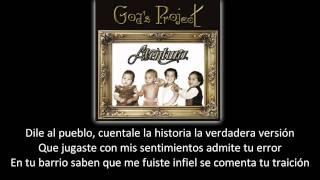 Aventura - Volvió La Traicionera (lyric - letra)