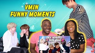 Best of BTS VMIN 2 (Jimin & Taehyung) REACTION- ARE THEY SOUL MATES???
