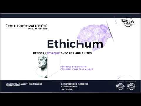 Présentation EthicHum - Ecole Doctorale d'été