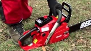 Chainsaw Basics: How to Start a Gas Chainsaw
