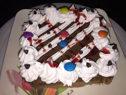 Video Instant eggless chocolate cake recipe - No bake chocolate cake at home