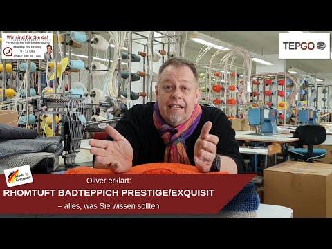 RHOMTUFT Prestige (DER Baumwoll-Badteppich)