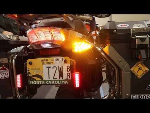 Weiser LED Turn Signal Upgrade for BMW R1200 GS