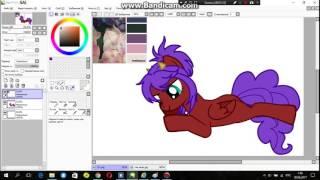 Создание пони по палитре №5