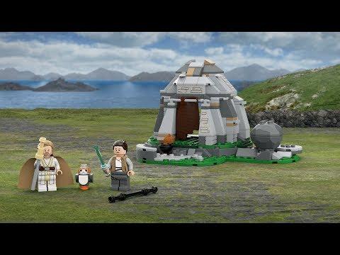 Vidéo LEGO Star Wars 75200 : Entraînement sur l'île d'Ahch-To