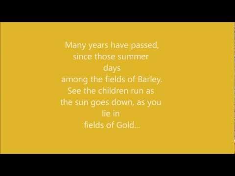 Eva Cassidy Fields Of Gold Lyrics
