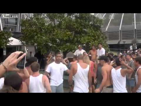 Huge Brawl in Sydney