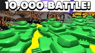 Home Wars - 5000 MEGA TANKS & MECH FIGHT 5000 BIRD EATING SPIDERS  & EMPEROR Scorpions - Gameplay