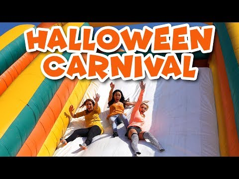 Halloween Carnival Games at the Pumpkin Patch Outdoor Playground. Totally TV