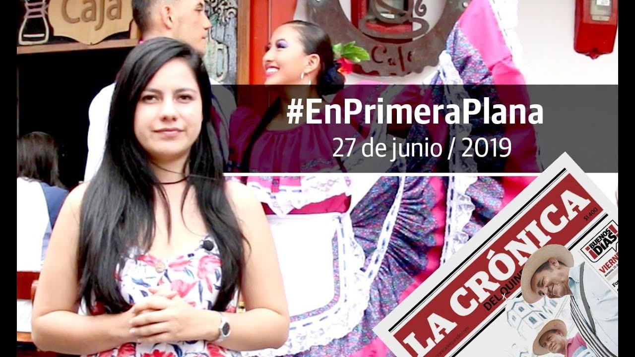 En Primera Plana: lo que será noticia este viernes 28 de junio