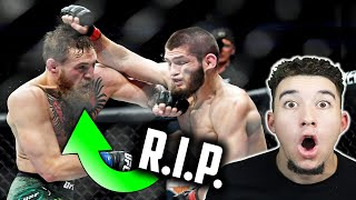 Video American Reacts to Khabib Nurmagomedov's GREATEST UFC Career Highlights 2018 | Conor McGregor Fight MP3, 3GP, MP4, WEBM, AVI, FLV September 2019