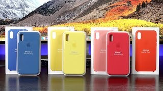 Apple iPhone X Cases: New Colors (Spring 2018)