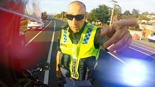 Cops Vs Bikers   Police Encounters & Cool Cops 2016