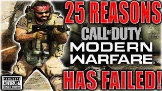 25 Reasons MODERN WARFARE has FAILED! 💩 Congratulations INFINITY WARD, you played Yourself!