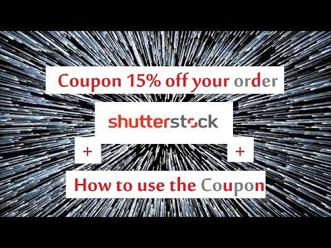 , title : 'Shutterstock coupon 15% off your order'
