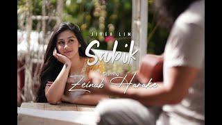 """#jirehlim #sabik #zeinabharake  @Jireh Lim's official music video of his brand new single called """"SABIK"""" starring  @Zeinab Harake.  Unli repeat on Spotify https://open.spotify.com/album/0Ki5YXioifJhmtooSJ8flK  Ravus by The Film Hat  Director/DP: Niq Ablao 2nd unit DP: Dan Orozco Cam Op: Angelo Leanda Gaffer/AC: Joseph Tolentino Production Manager: Shiela Mae Rey  Special thanks to: Zeinab Harake Ravus by The Film Hat Luis Gabriel Reyes The Farm Green and Saddle Resort (Dasmarinas Cavite) Check out their page at https://www.facebook.com/TheFarmResort CollabPH and Sunnyside Clothing PH (Dasmarinas Cavite) for Zeinab's wardrobe Sunnyside page https://www.instagram.com/sunnysideclothingph Collab page https://www.instagram.com/collab.ph  Subscribe for more official content from Jireh Lim: https://bit.ly/2UNAEXl  Follow Jireh Lim for updates and gig announcement. https://www.facebook.com/jirehlim214/ https://twitter.com/jirehlim?lang=en https://www.instagram.com/jirehlim/?h...  Subscribe for the latest official music videos, official audio videos, performances, behind the scenes and more from Jireh Lim: https://bit.ly/2UNAEXl  Follow and subscribe to @Zeinab Harake for the latest official videos, vlogs, behind the scenes from Zeinab Harake: https://www.facebook.com/zeiharake11 https://twitter.com/zeinabharake11 https://www.instagram.com/zeinab_harake   Official Lyrics  Verse Ako'y nasasabik sa'yo Sa yakap at lambing mo Naiisip ko pa lang malayo ka Ay kay lungkot Nababaliw ako pag naaalala ko Ang tamis ng iyong ngiting  Lumiliwanag sa gabi  Refrain: Dinadama ko ang hiwagang  Dulot ng iyong pag mamahal Huwag ka sanang magsasawa Ang tangi kong dinadasal  Chorus: Minamahal kita Kumupas man ang iyong ganda Makakasama ka Hanggang sa tayo'y tumanda Iibigin ka Kahit tumutol man sila Hilamin tayo pababa Pagibig ko'y di mag iiba  Verse: Ako'y nasasabik sa'yo Sa lambot ng labi mo Nakatitig ka pa lang Ako'y nagiging marupok Naaaliw ako at nahahabag ako Sa tuwing dumadampi Ang palad k"""
