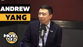 Ebro In The Morning - Andrew Yang On $1,000 A Month Plan, Tulsi Gabbard, Trump's Impeachment & College Loan Forgiveness