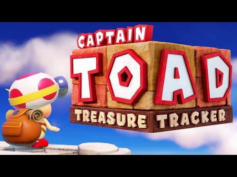 Captain Toad Treasure Tracker - Full Game Walkthrough