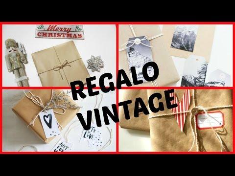Papel de regalo tipo vintage, facilísimo! CINDYLIMON