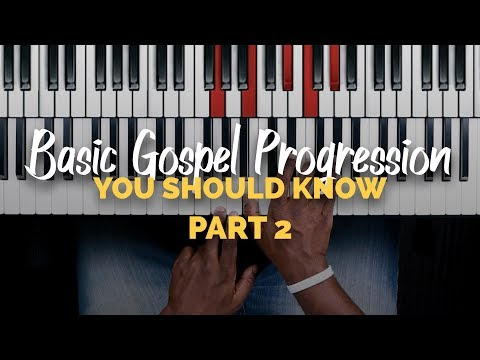Basic Gospel Progression You Should Know #2 | Minor 251