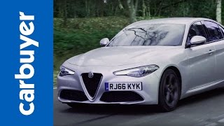 Alfa Romeo Giulia saloon review - Carbuyer