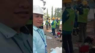 Pembongkaran Gedung SMK Triguna Jakarta Selatan