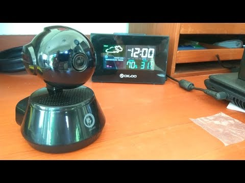 Unboxing the Digoo BB-M1X Home Mini IP Camera.