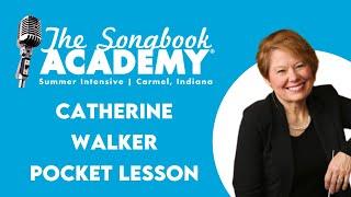 Vocal Technique Mini Lesson with U of M's Catherine Walker