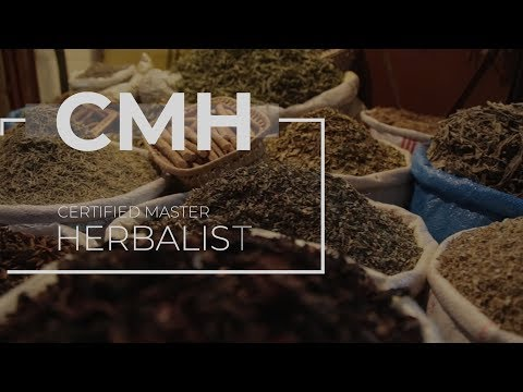 Certified Master Herbalist - Trinity School of Natural Health - YouTube