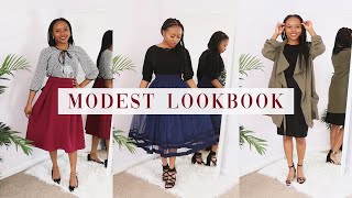 Modest Outfits 2020 | Modest Clothing Lookbook For Feminine Style