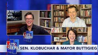 Sen. Amy Klobuchar & Mayor Pete Buttigieg Comment On Trump's Move To Keep Meat Plants Open thumbnail