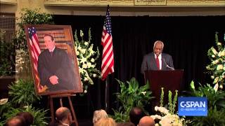 Justice Thomas Eulogy at Justice Scalia Memorial Service (C-SPAN)