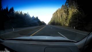 Highway 101 from Eureka to Orick in 6 minutes !