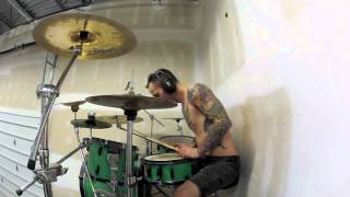 Every Time I Die - Thirst + Decayin' With The Boys (SCOTT HAIG DRUM COVER)