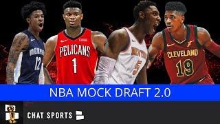 2019 NBA Mock Draft | All 30 1st Round Picks V2.0