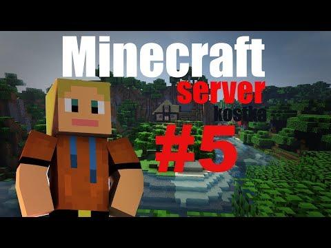 DukyLP - Minecraft server KOSTKA #5 - Po dlouhé době na SERVERU