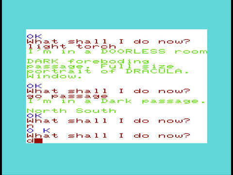 Commodore VIC 20 - The Count (Full Playthrough)