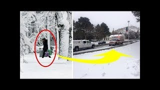 This Woman Saw An Old Lady In The Freezing Snow – Then Got A Reply That Set Off Serious Alarm Bells