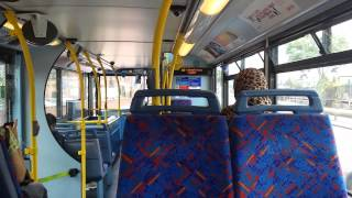 preview picture of video 'Journey on the 112 (TA646 LK05GGJ) Dennis Trident 2/Alx400 9.9m'