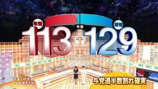 2010参議院総選挙出口調査フジテレビ