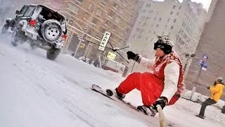 Making of / SNOWBOARDING WITH THE NYPD