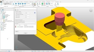 ViewMill stock simulation in PowerMill 2018