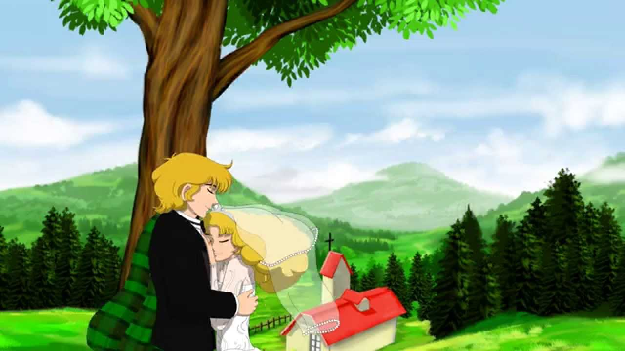 CANDY CANDY ★ Il matrimonio tra Candy e Albert