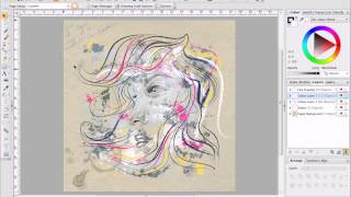 Serif DrawPlus X6 Tutorial - Painting