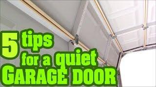 How to fix a noisy Garage Door Opener