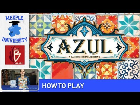 Azul Board Game – How to Play & Setup in 7 Minutes