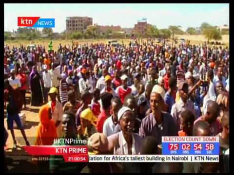 NASA principals lay their agenda for the pastoral communities during their Isiolo tour