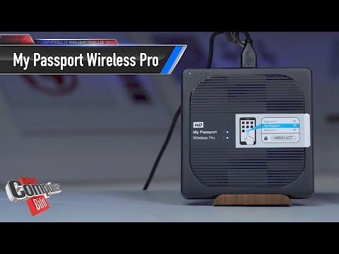 WD My Passport Wireless Pro: WLAN-Festplatte im Check